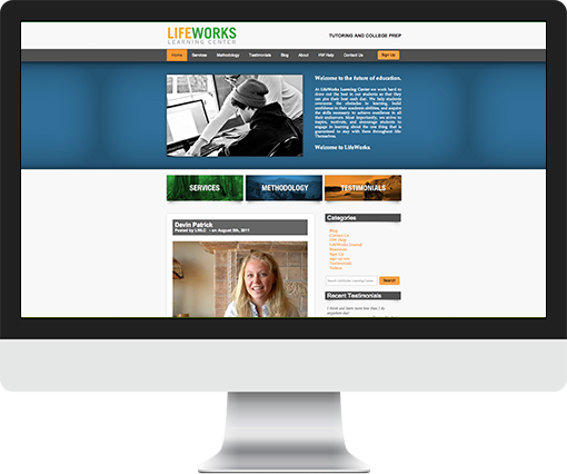 Updates and additions for LifeWorks Learning Center's WordPress site